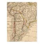 Suramérica 40 tarjeta postal
