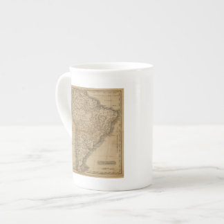 Suramérica 8 taza de porcelana