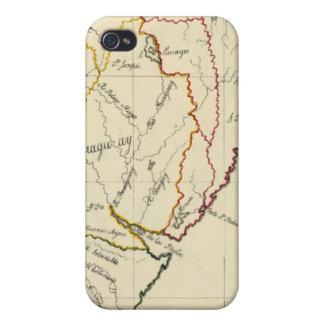 Suramérica 9 iPhone 4/4S carcasa