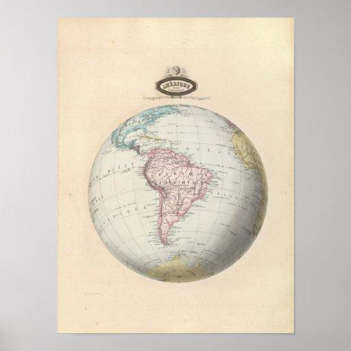 Suramérica 9 poster