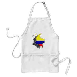 Suramérica: Colombia Delantal