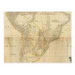 Suramérica compuesta 2 postal