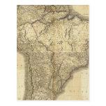 Suramérica compuesta 3 postal