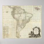 Suramérica compuesta 3 póster