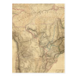 Suramérica compuesta 4 postal