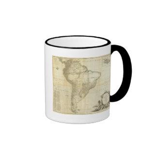Suramérica compuesta taza