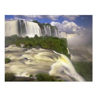 Suramérica, el Brasil, caídas de Igwacu. Glorioso Tarjeta Postal