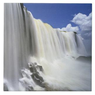 Suramérica, el Brasil, Igwacu, caídas de Igwacu Azulejo Cuadrado Grande