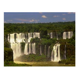 Suramérica, la Argentina, el Brasil, caídas de Postales