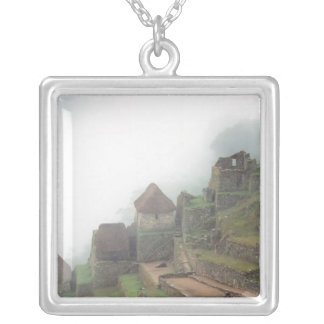 Suramérica Perú Macchu Picchu Collar Plateado