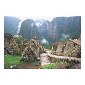 Suramérica, Perú, Machu Picchu Impresiones Fotograficas