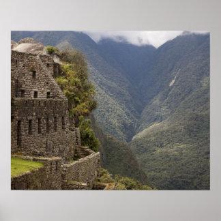 Suramérica Perú Machu Picchu Ruinas de la piedr Impresiones