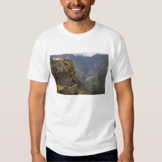 Suramérica, Perú, Machu Picchu. Ruinas de la Poleras