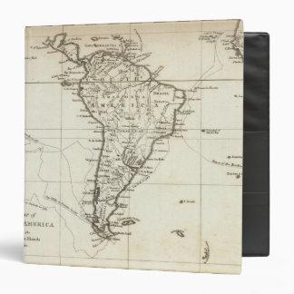 """Suramérica y las islas adyacentes carpeta 1 1/2"""""""