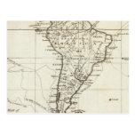 Suramérica y las islas adyacentes postales