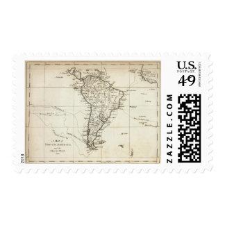 Suramérica y las islas adyacentes sellos
