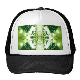 Surco ligero futurista verde gorro