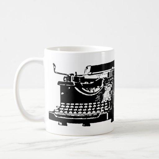 Sure. I Text. Typewriter Mug
