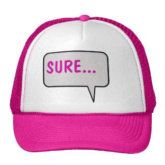 Sure Speech Bubble Hat