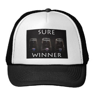 Sure winner trucker hat