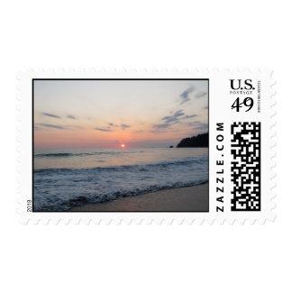 Surene Ocean Sunset Stamps