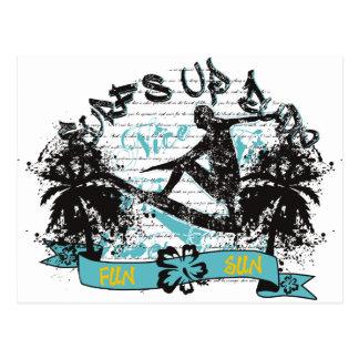 Surf 4 postcard