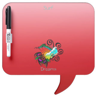 Surf abstract Dry-Erase board