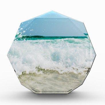 Beach Themed surf acrylic award