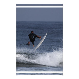 Surf Action Personalized Stationery