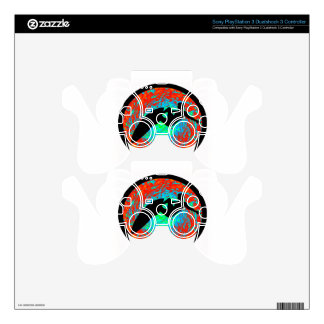 SURF ALL WAVES DECAL FOR PS3 CONTROLLER