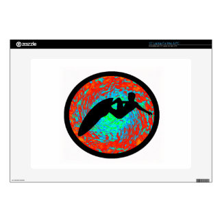 SURF ALL WAVES LAPTOP DECALS