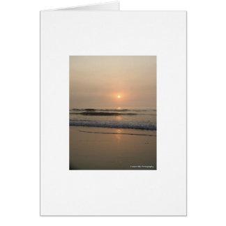 Surf along Hampton Beach Card