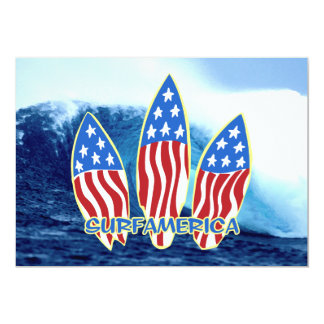 Surf America Wave Party Invitations