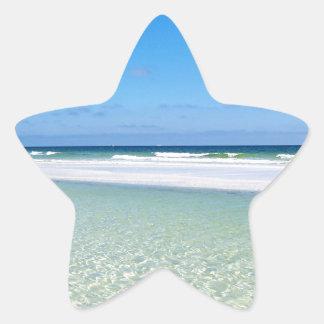 Surf and Sandbar Star Sticker