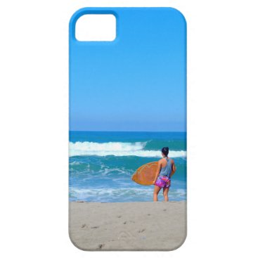 Beach Themed Surf and Waves iPhone SE/5/5s Case