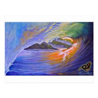 Surf Art Postcard