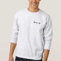 Surf Art Print on reverse Sweatshirt