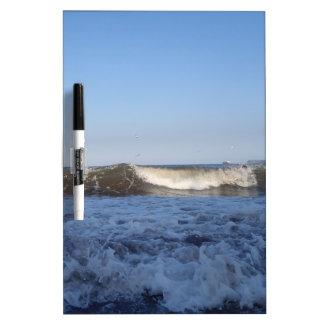 Surf At North Preston Beach In Paignton Dry-Erase Board