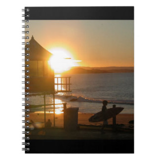 Surf at Sunset Notebook