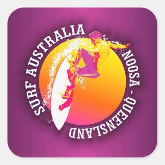 Surf Australia (Noosa) Square Sticker