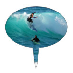 Surf Background Cake Topper