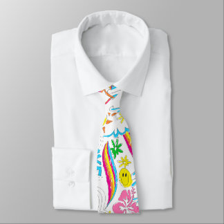 Surf beach love tie