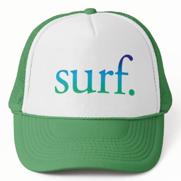 Beach Themed surf | Blue and Green Beach Surf Tropical Hat