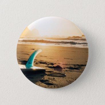 Surf board beach button
