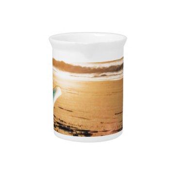Beach Themed Surf board beach drink pitcher