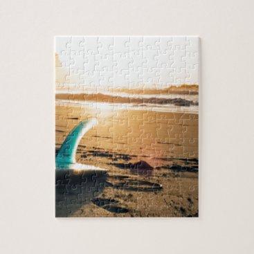 Surf board beach jigsaw puzzle