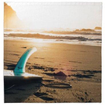 Beach Themed Surf board beach napkin