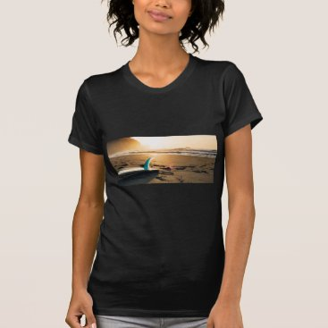 Beach Themed Surf board beach T-Shirt