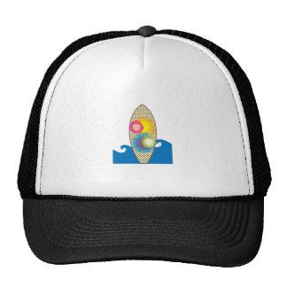 Surf Board Mesh Hat