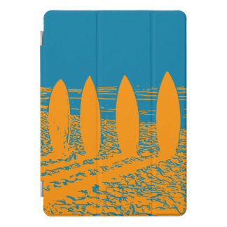 Surf board iPad case